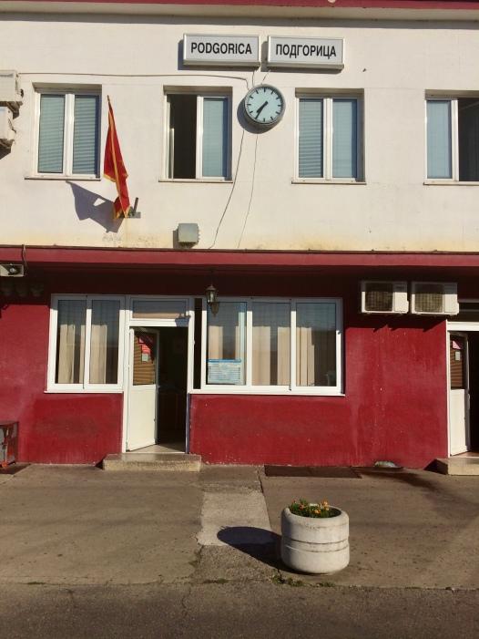 Podgorica station.