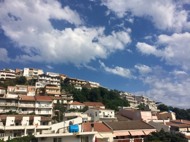 The hillside above the Mala Plaza.