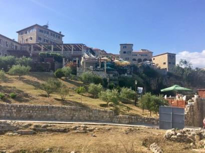 Inside the walls of the Stari Grad (Old Town) in Ulcinj.