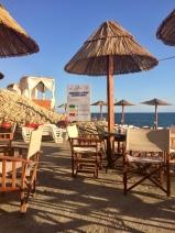 Sea level patio at Sunset Beach.