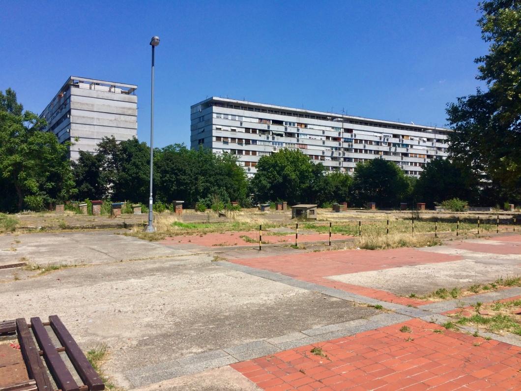 Blokovi in Novi Beograd.