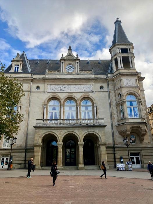 Luxembourg's Hôtel de Ville.