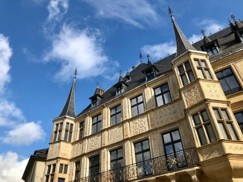 The Palais Grand-Ducal in Luxembourg City.