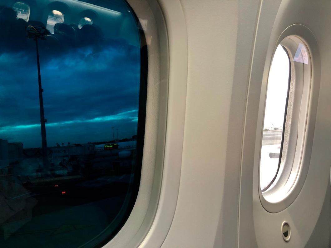 Dreamliner window